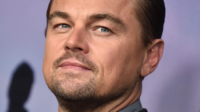 Leonardo DiCaprio posing