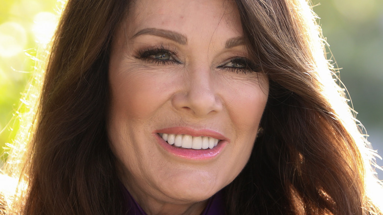 Lisa Vanderpump smiling at an event