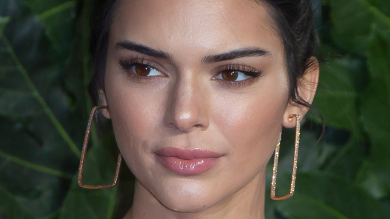 Kendall Jenner staring off
