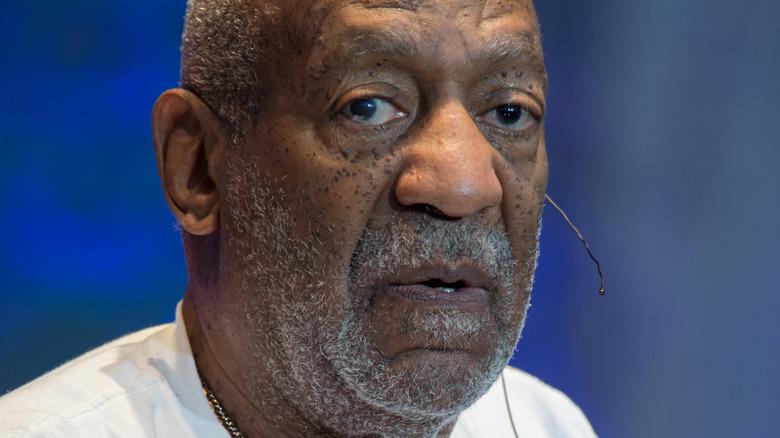 Bill Cosby staring