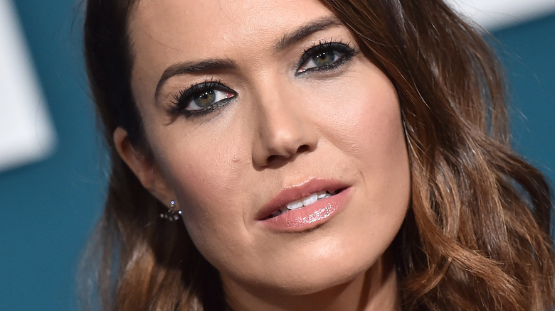 Mandy Moore on the red carpet