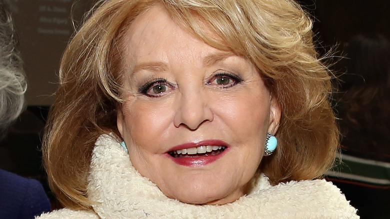 Barbara Walters smiling at camera