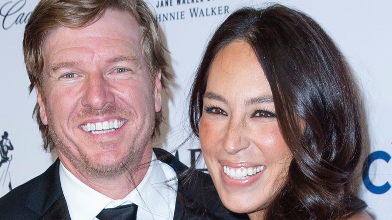 Chip and Joanna Gaines glamorous
