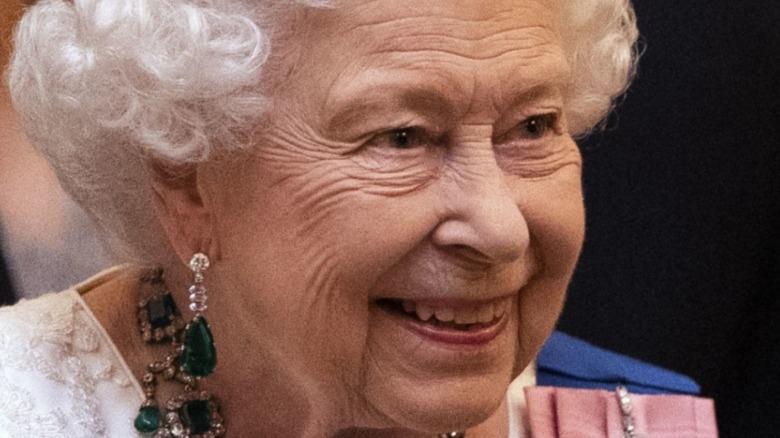 Queen Elizabeth II visitsLister Hospital on June 14, 2012