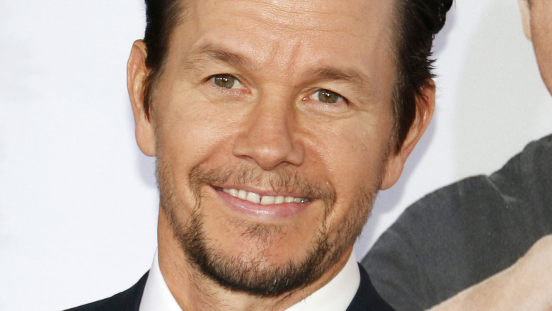 Mark Wahlberg smiling at an event