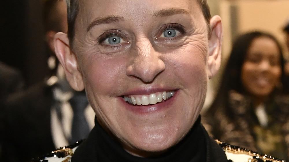 Ellen DeGeneres at an event