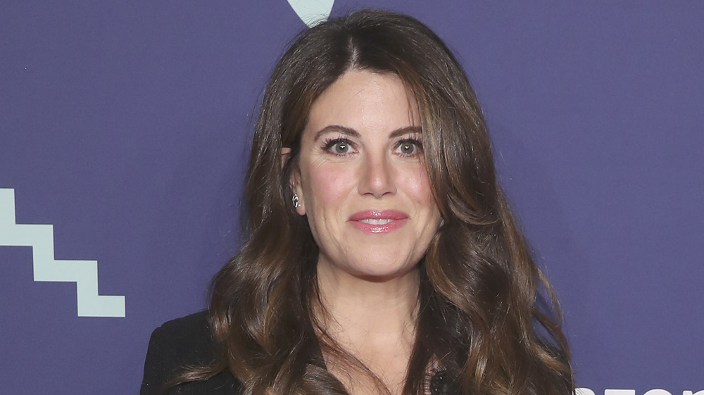 Monica Lewinsky smiling at an event