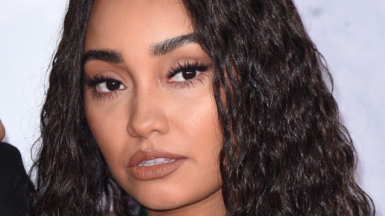 Leigh-Anne Pinnock gazing in front