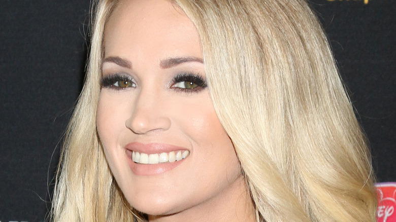 Carrie Underwood smiling