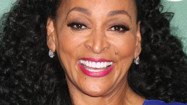 Karen Huger with wide grin
