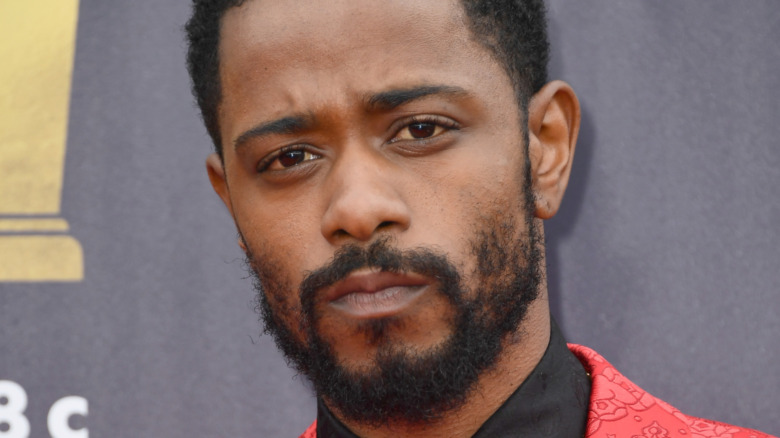 LaKeith Stanfield posing
