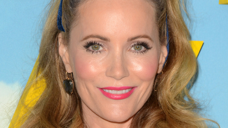 Leslie Mann smile