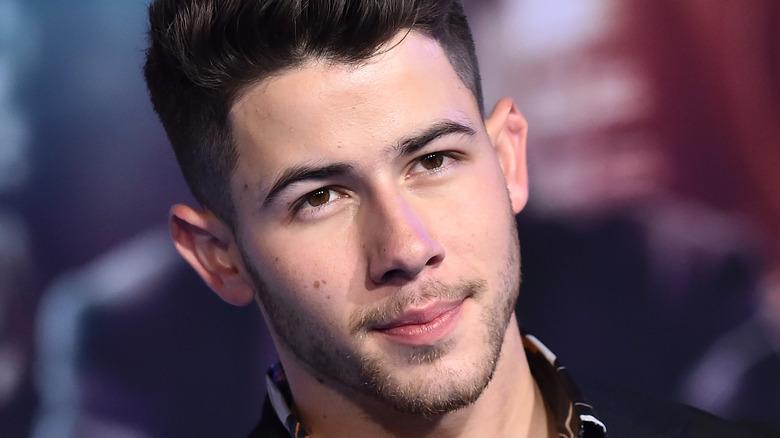 Nick Jonas serious