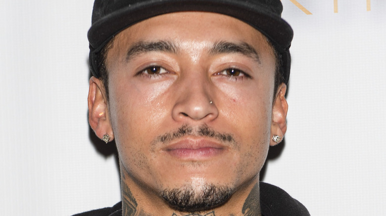 Nyjah Huston at a red carpet event
