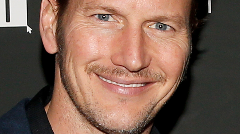 """Patrick Wilson smiling at """"The Assistant"""" screening 2020"""