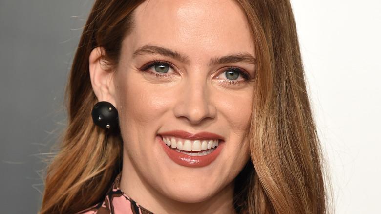 Riley Keough smiling