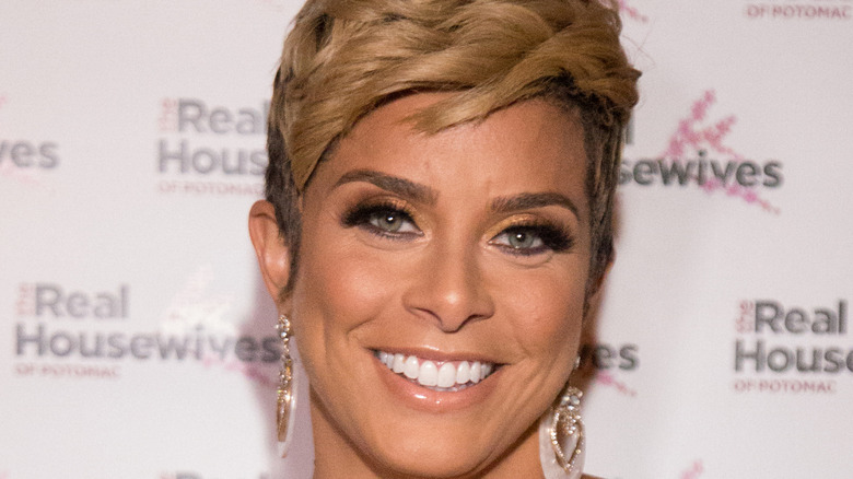 Robyn Dixon at 'Real Housewives of Potomac' premiere party 2019
