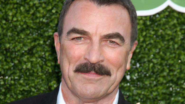 Tom Selleck at the at the 2010 CBS Showtime Summer Press Tour Party