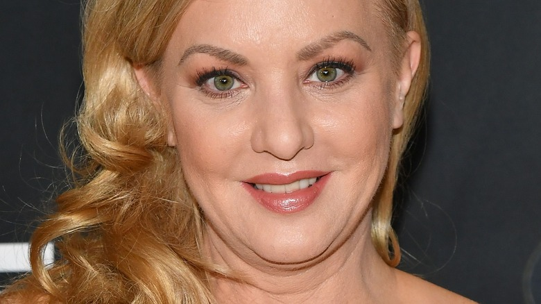 Wendi McLendon-Covey on red carpet