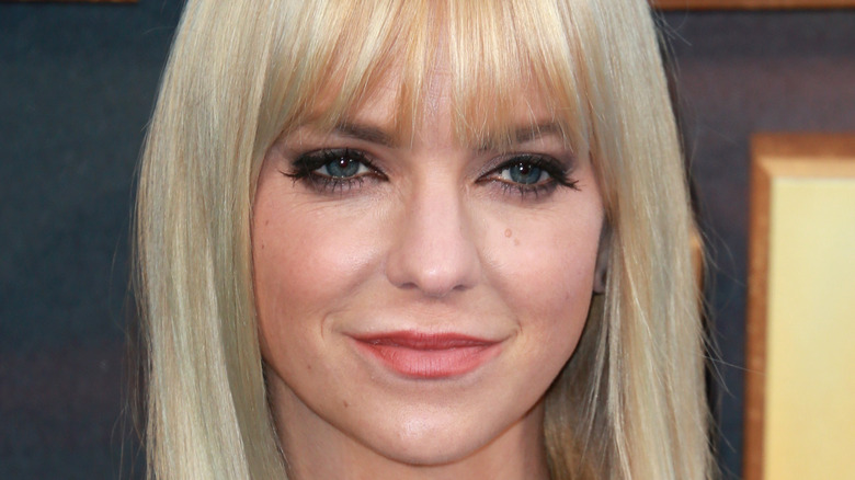 """Anna Faris attends the UK screening of """"Guardians of the Galaxy Vol. 2"""" in 2017"""