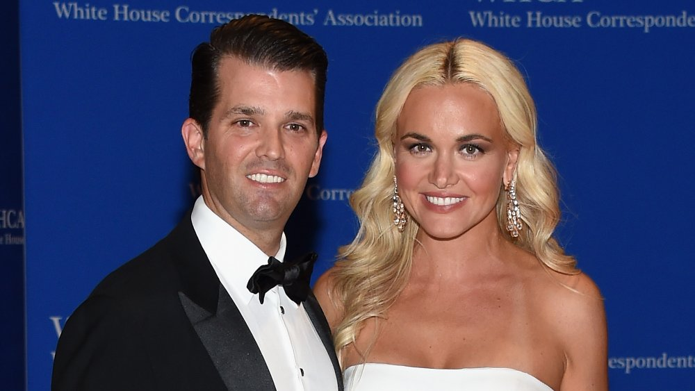 Donald Trump Jr.(L) and Vanessa Trump attend the 102nd White House Correspondents' Association Dinner