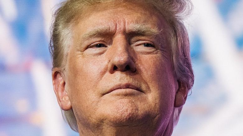 Donad Trump's face