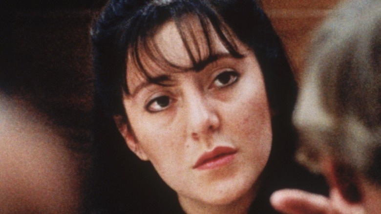 Lorena Gallo (Bobbitt) in court, 1994