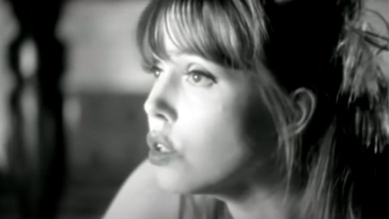 Anita Lane appears in a music video