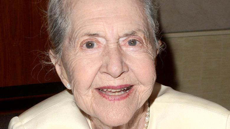 Joanne Linville, smiling