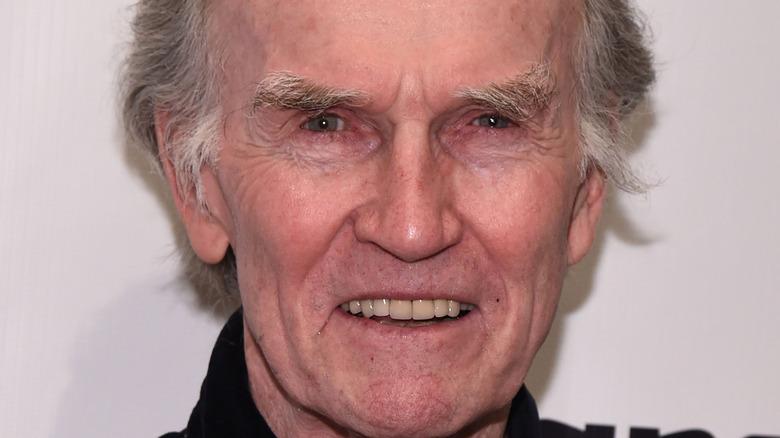 Robert Hogan, elderly, smiling, 2015 red carpet