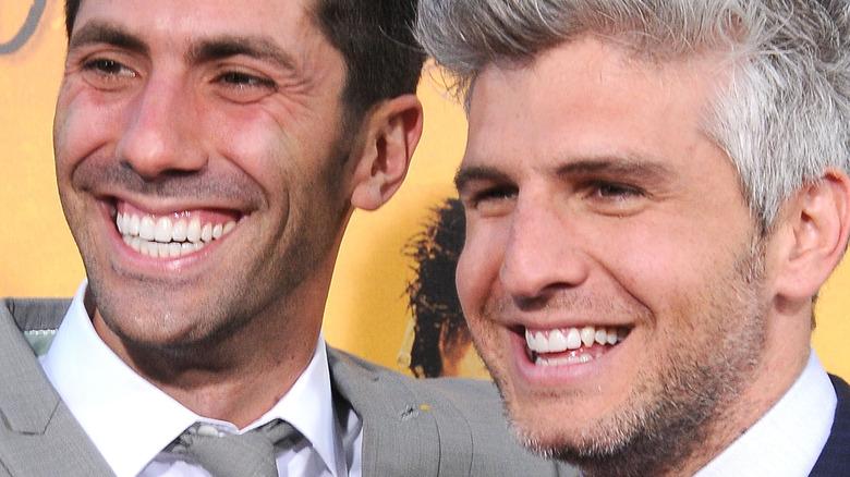 Nev Schulman and Max Joseph smiling