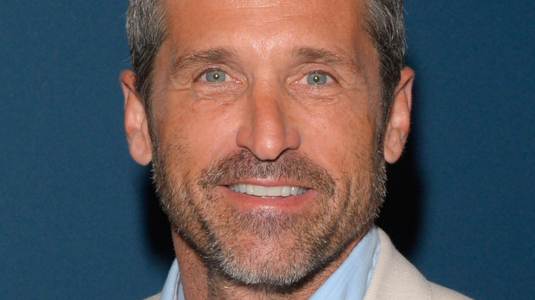 Patrick Dempsey on the red carpet for an event