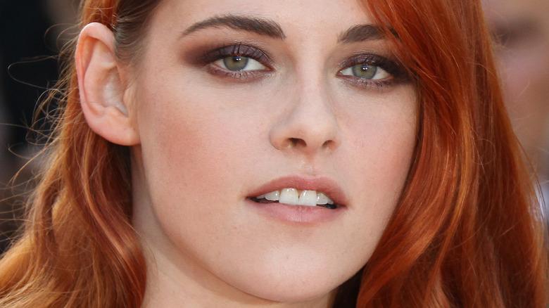 Kristen Stewart red hair