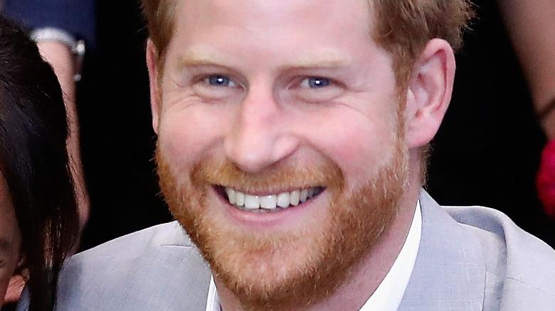 Prince Harry blue eyes