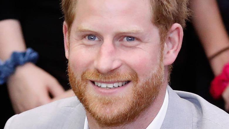 Prince Harry teeth