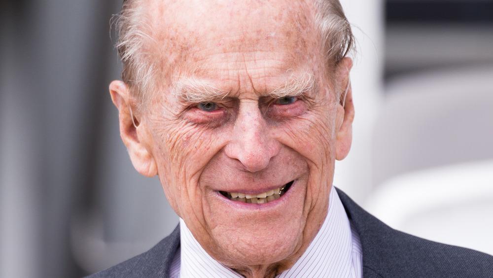 The Duke of Edinburgh attending an event