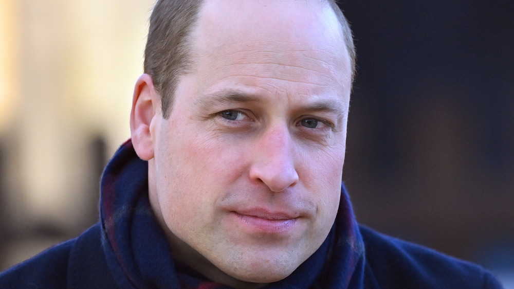 Prince William close-up
