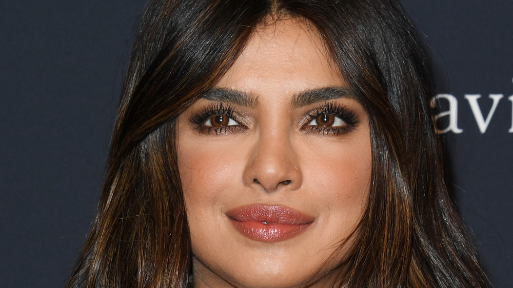 Priyanka Chopra eyelashes