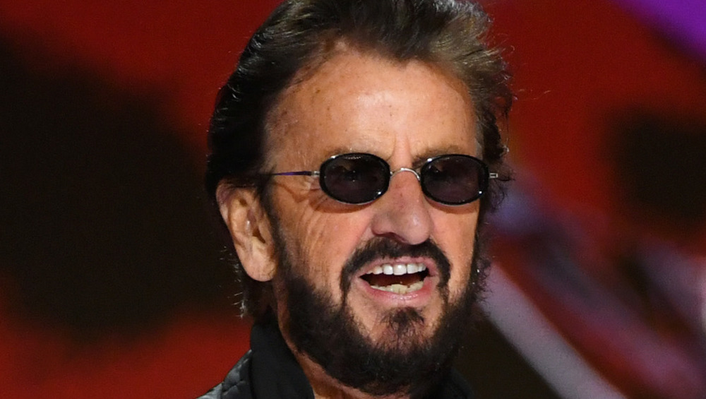 Ringo Starr presenting at the Grammy Awards