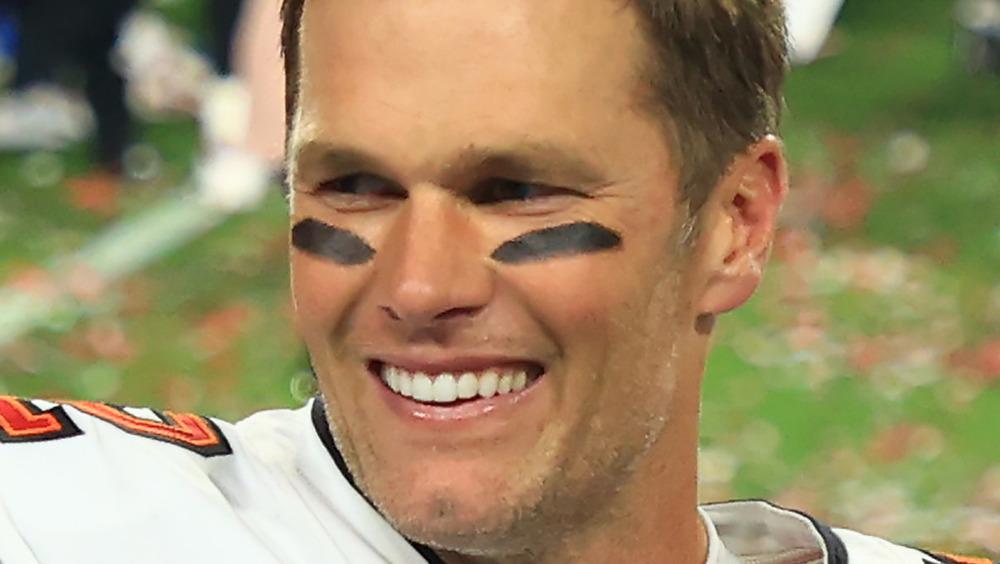 Tom Brady smile