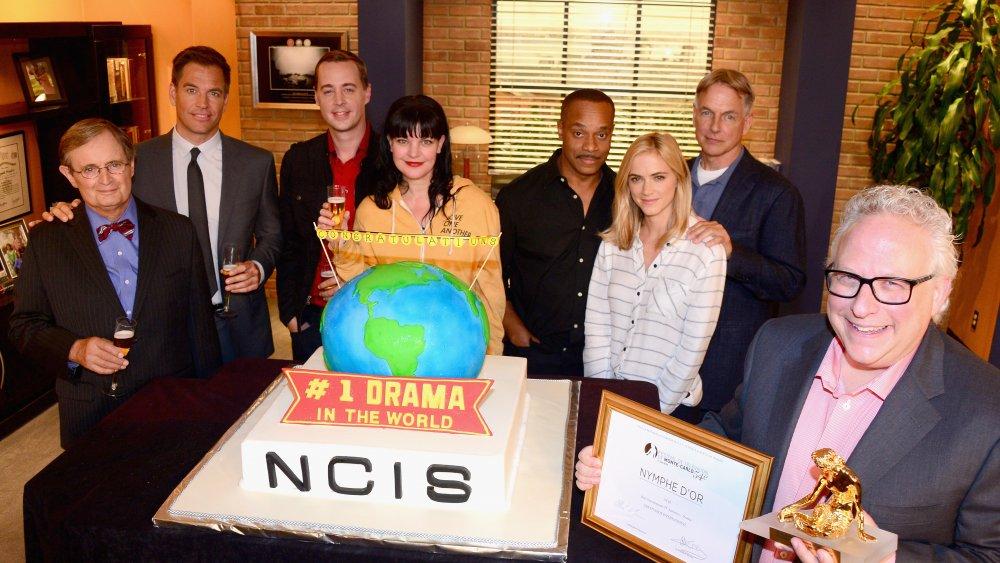 the NCIS cast, including Sean Murray
