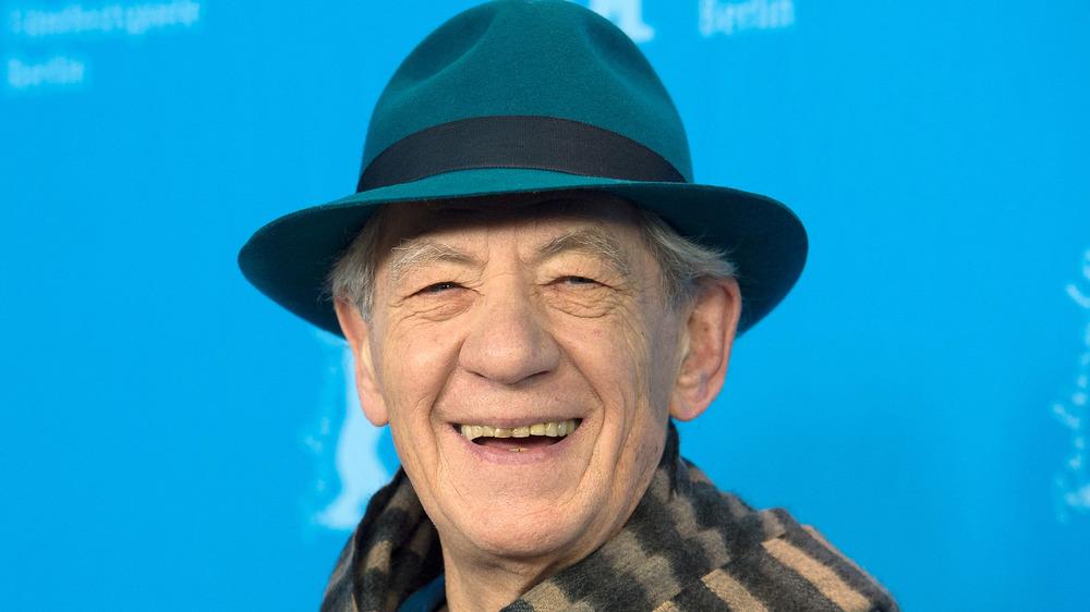 Ian McKellen smiling