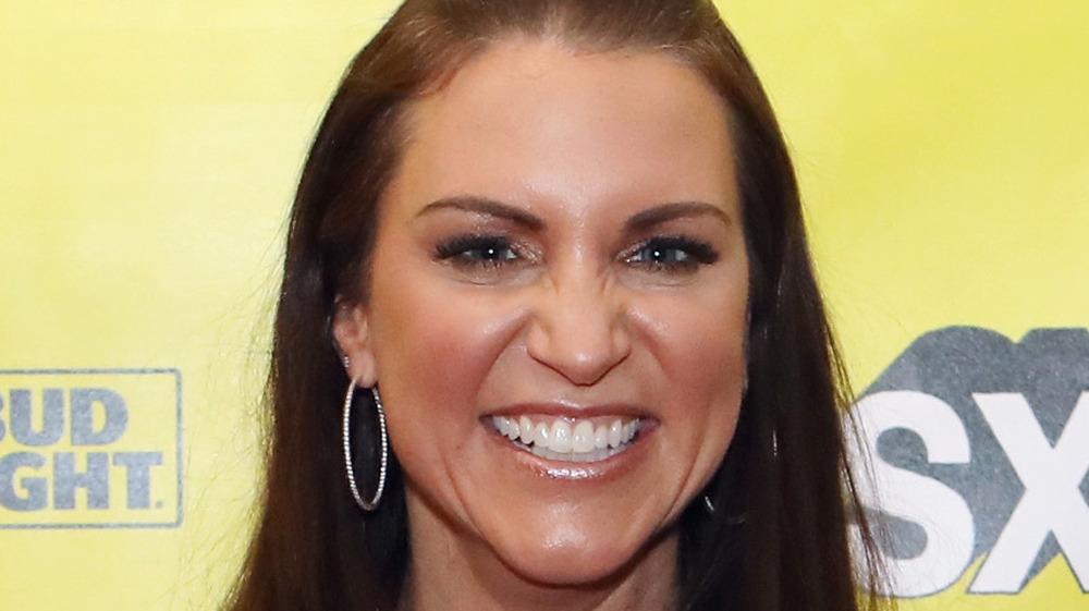 Stephanie McMahon smiling