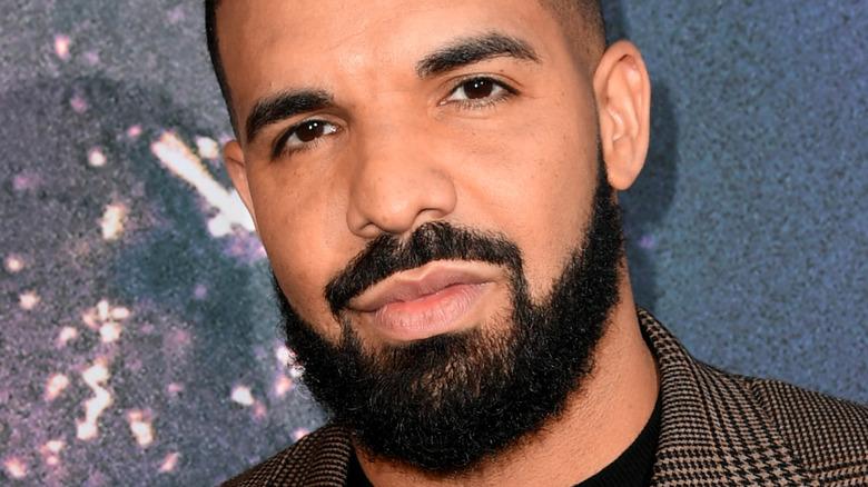 Drake smirking