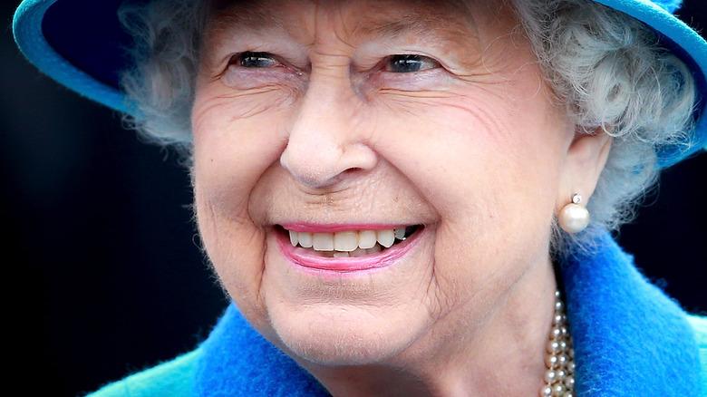 Queen Elizabeth at event