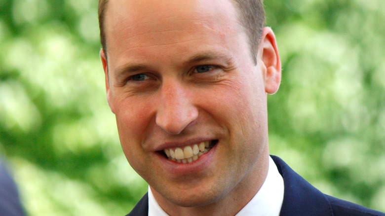 Prince William outside