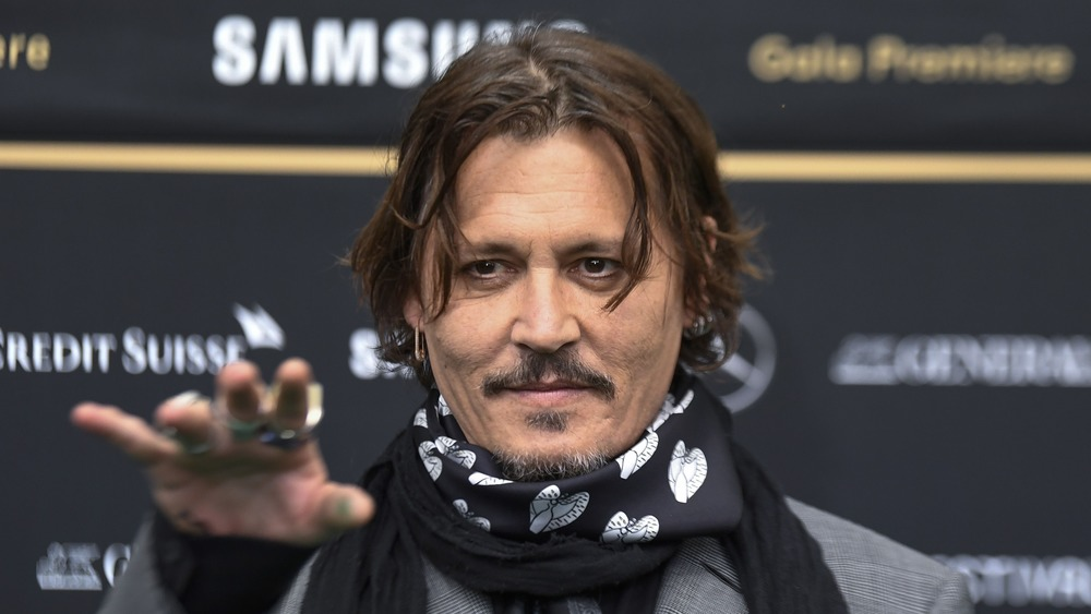 Johnny Depp at the Crock of Gold premiere