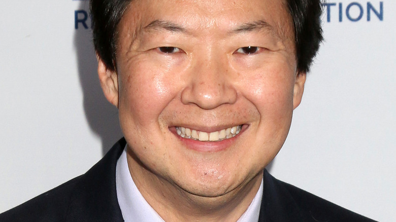 Ken Jeong with wide smile