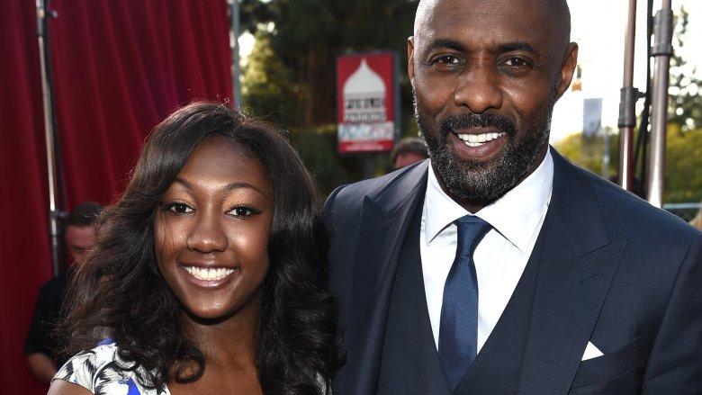 Idris Elba and Isan Elba
