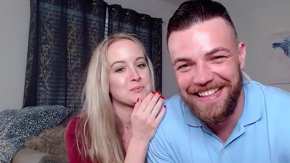90 Day Fiancé's Elizabeth and Andrei appear on Love Games